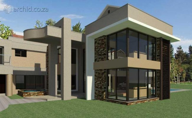 Architects in South Africa 5 Bedroom Contemporary House Plan Designs_Archid_Modern House Plans_32