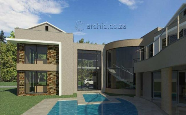 Architects in South Africa 5 Bedroom Contemporary House Plan Designs_Archid_Modern House Plans_33
