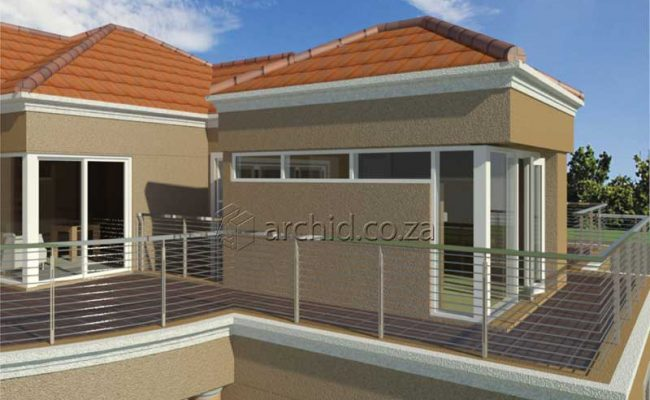 Double Storey Architecture Design Modern Tuscan 5 Bedroom Building House Floor Plan Designs_Archid_Architects in South Africa_52